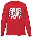 Best Blittzen Bitchs Shirts - Blittzen Mens LS Cheers Bitches Im 21, S Review