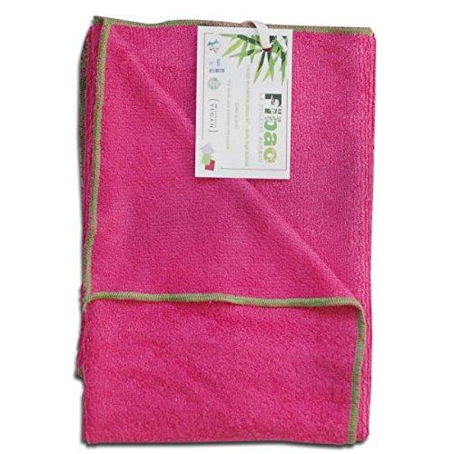 Fuchsia Fibao Serviette de Toilette Bambou