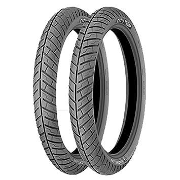 Michelin Michelin 100/90 -18 56P City Pro TT - 90/90/R18 56P - a/a/70DB - Moto Neumáticos: Amazon.es: Coche y moto