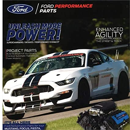 Ford Racing Parts >> Amazon Com Ford Performance M 0750 P2018 2018 Ford Racing