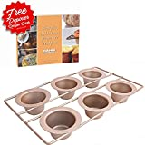 Popover Pan 6 Cup Bakeware by Hahn Professional 6