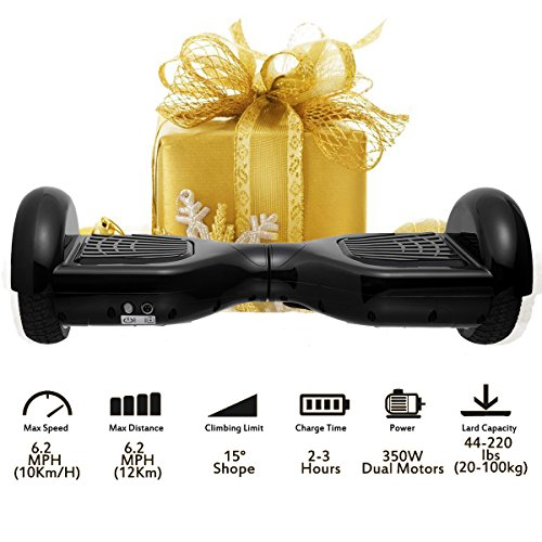 """Price comparison product image Coocheer Electric Hoverboard UL2272 Certified Two-wheel Self Balancing Scooter Smart Hover boards with LED Lights and 6.5"""" Wheels(Best Gifts for Kids/Spring Outdoor Choices)"""
