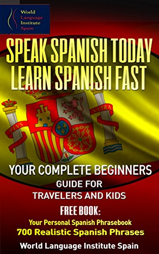 Spanish Beginners Travelers Phrasebook Realistic ebook product image