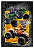 Monster Jam Trucks Party Loot Bags 8 Pack