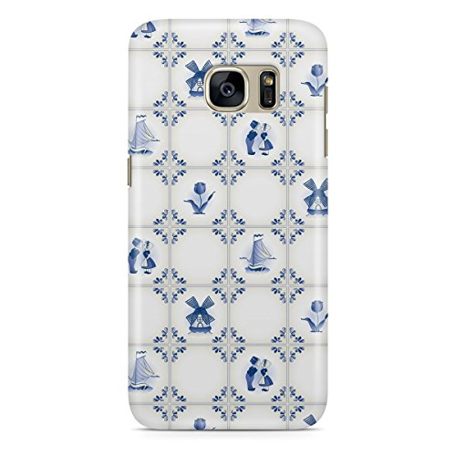 Phone Case For Apple iPhone 6 - Delft Blue Holland Pottery Hardshell Cover