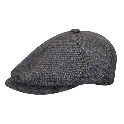 borsalino-male-bb150500011-wool-nesboy-cap-navy-tweed-xl