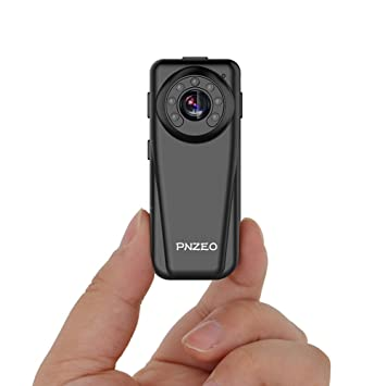 PNZEO Mini cámara espía cámara oculta cámara 1920 x 1080P Full HD cámara de infrarrojos de