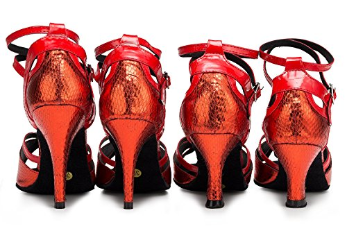 heel de Miyoopark Red bal rouge 35 Salle 10cm femme RRqrw0x