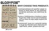 GLORYFIRE Waterproof Notebook Tactical