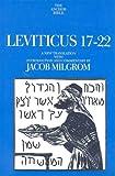 Leviticus 17-22, Milgrom, Jacob, 0300140568