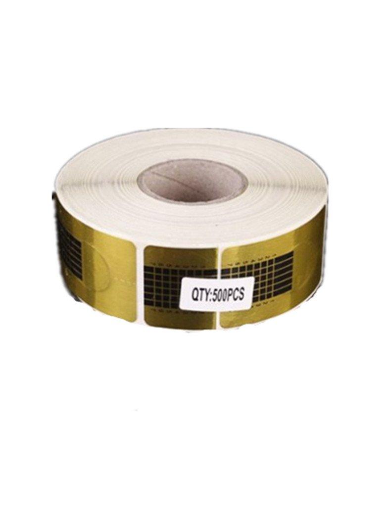 Rollo de 500 pegatinas de papel para uñas postizas de gel, UV o ...