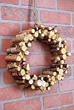 Richland Natural Birch Peg Wreath 12""