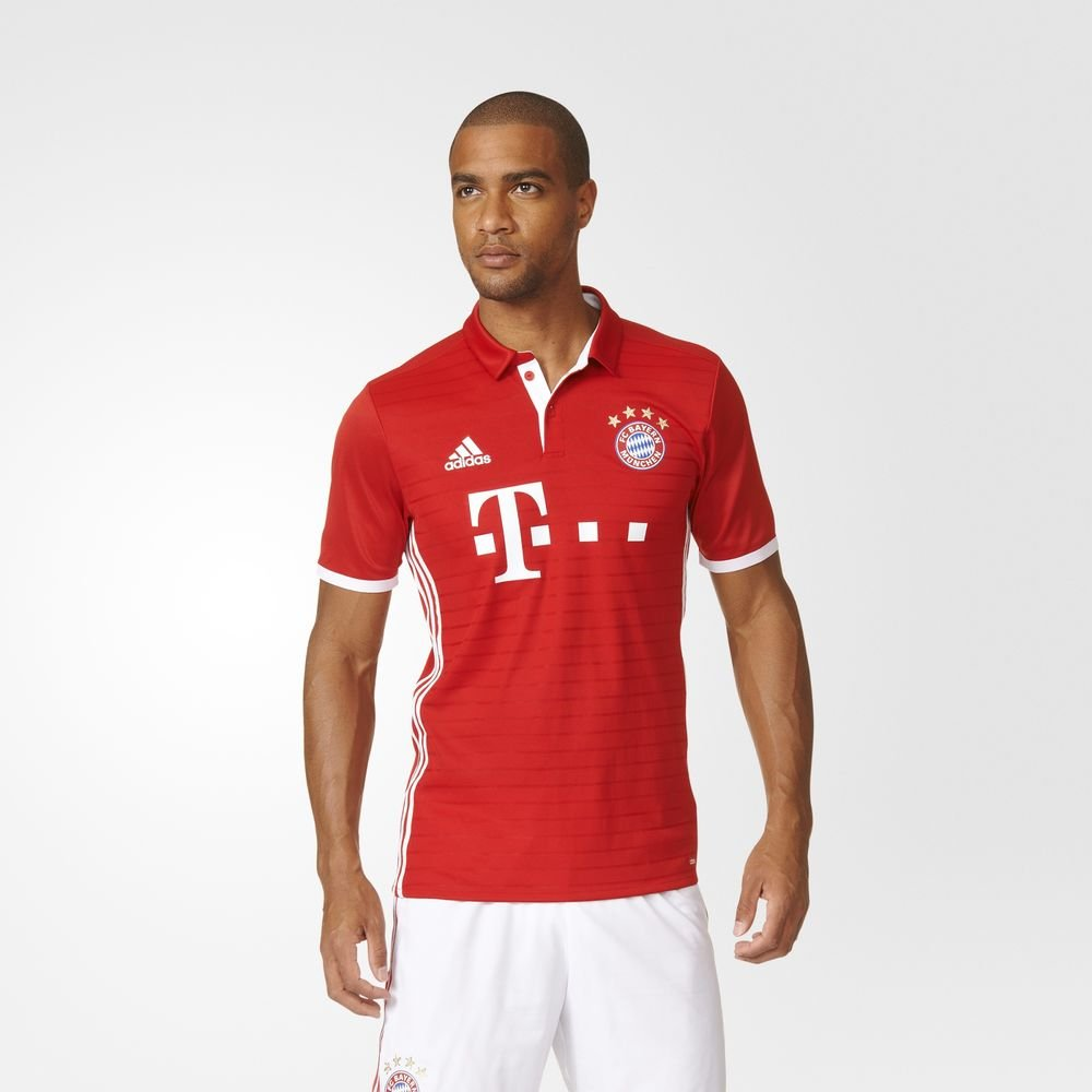 adidas FC Bayern Munich Home Authentic Jersey-fcbtru, FCBTRU ...