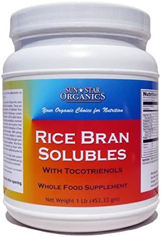 Rice Bran Solubles with Tocotrienols