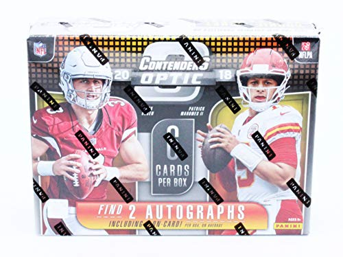 (2018 Panini Contenders Optic NFL Football Hobby)