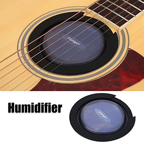 Tbest Humidificador de Guitarra Acústica,Cubierta de Agujero de Sonido de Guitarra Secador 3 en 1 Guitarra Instrumento...