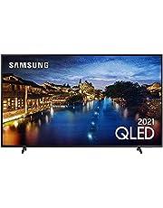 "Smart TV 4K QLED 55"" Ultra HD Samsung"