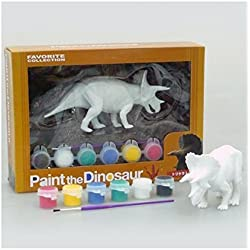 Paint The Dinosaur Triceratops FD-262 (japan import) by The Triceratops Dinosaur paint