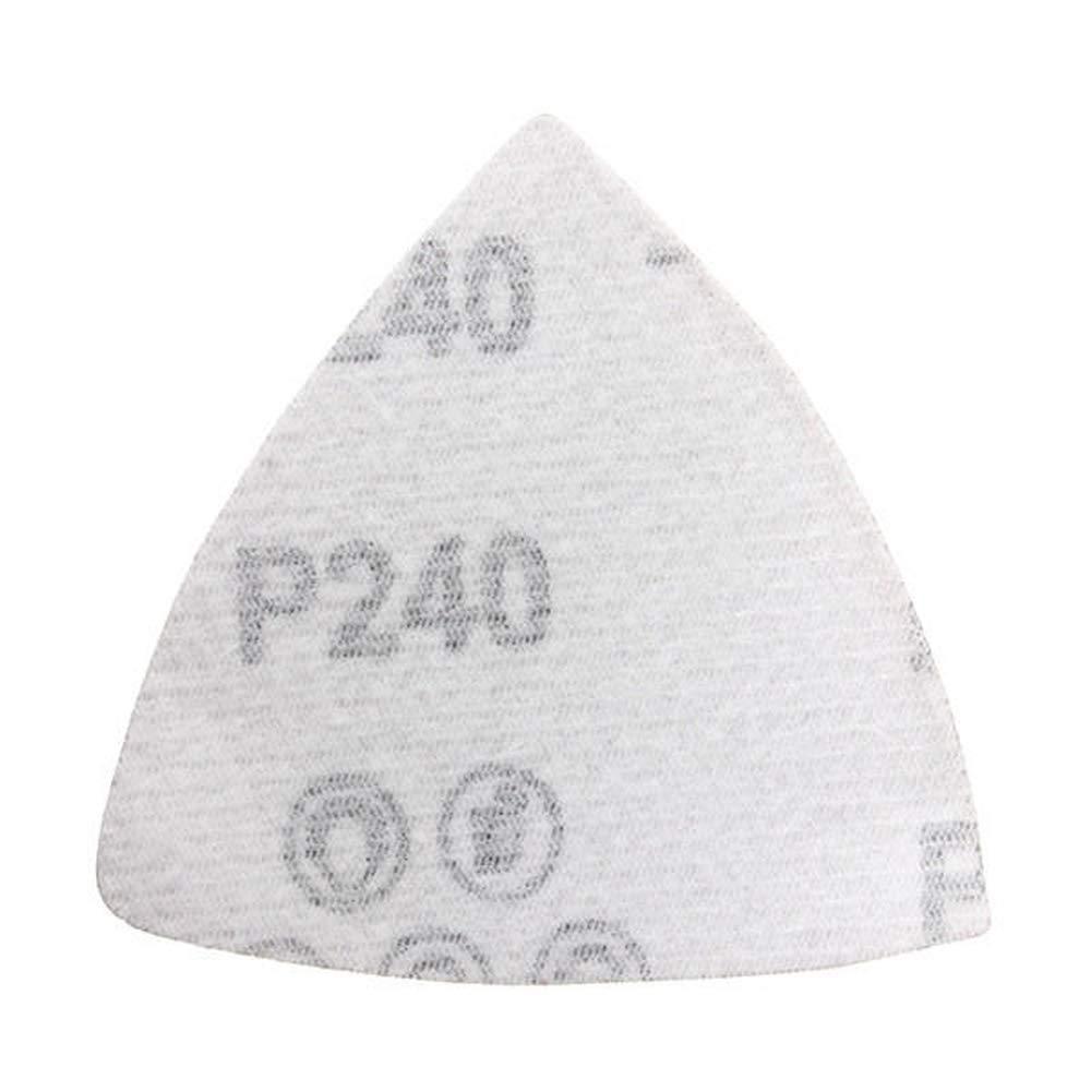 32 St/ück 80 mm Schleifbl/ätter f/ür dreieckige Schleifbl/ätter K/örnung 60//120//180//240