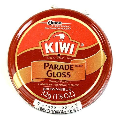 Kiwi 10313 1-1/8 Oz Brown Gloss Premium Shoe Polish With Silicone by Kiwi (Image #2)