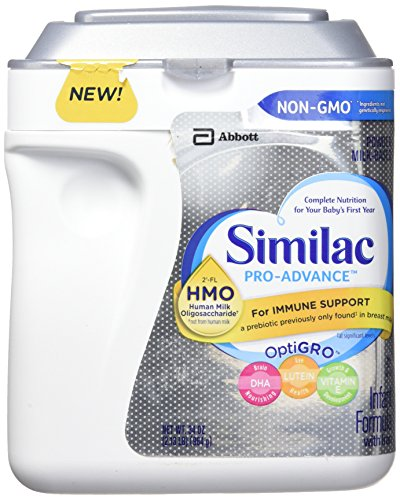 Similac Pro-Advance Non-GMO Powder, Infant Formula with Iron with 2'-FL HMO for Immune Support, (34 Ounces), (Various Packs Available) -  43305-13666
