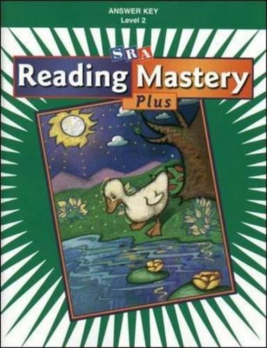 Reading Mastery Plus Level 2: Answer Key Paperback