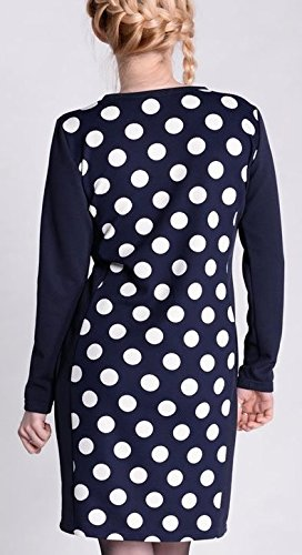Dress Lara vestido funda detalle pulsera mujer premamá/Vestido marine / tupfen