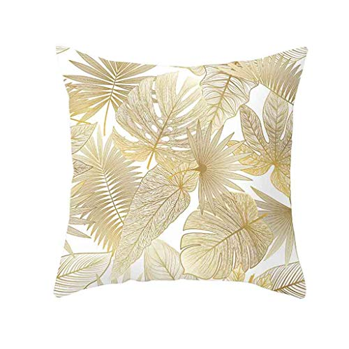 Weiliru New Living Series Coffee Color Decorative Throw Pillow Case Cushion Cover 18