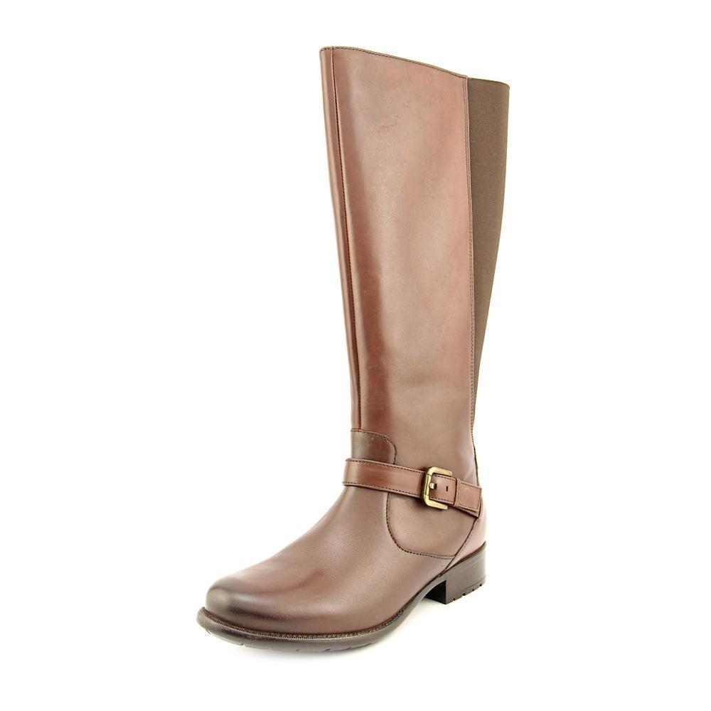 Clarks Plaza Pilot damen braun Leather Stiefel 7-Wide