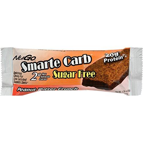 NuGo Nutrition Smarte Carb Peanut Butter Crunch Bar 12 Bar(S)