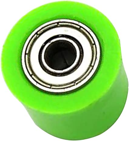 Verde Sharplace Rodillo de Cadena Pieza de Transmisi/ón de Veh/ículos para CRF YZF KTM RMZ KLX
