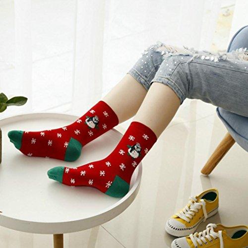 8 pairs Unisex 3D Printed Cartoon Animal Dog Socks Ankle Socks - 3