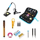 Numkuda Electric Soldering Iron Tool Kit 220V 60W Adjustable Temperature Welding ON/OFF