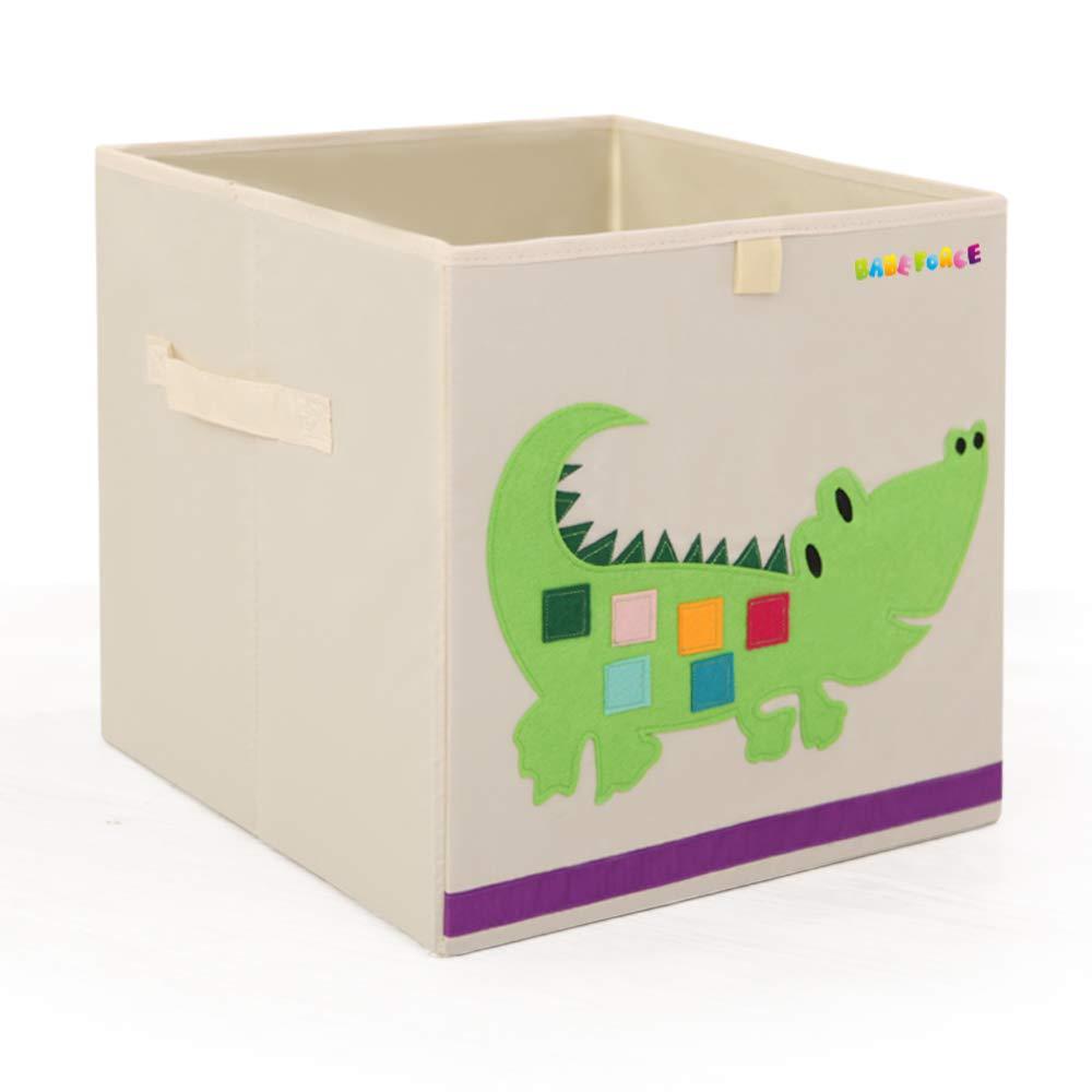 Cute Animal Collapsible Toy Storage Organizer Folding: Amazon.com : Foldable Storage Bins 13'' Fabric Cube Box