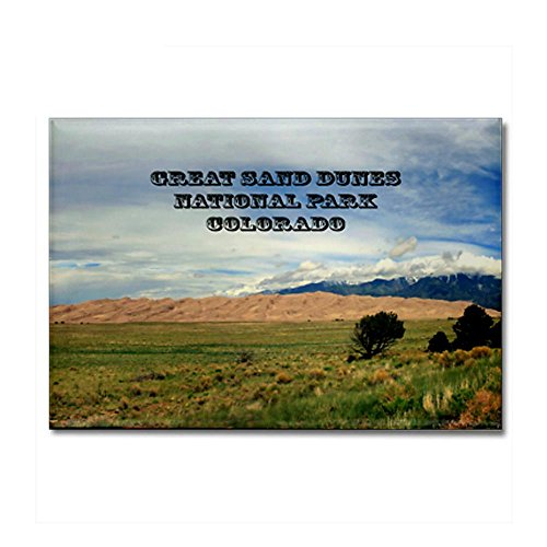 CafePress - Great Sand Dunes Nat.Park 5 Rectangle Magnet - Rectangle Magnet, 2