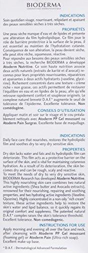 Bioderma Atoderm Nutritive Cream, 1.33 fl oz.