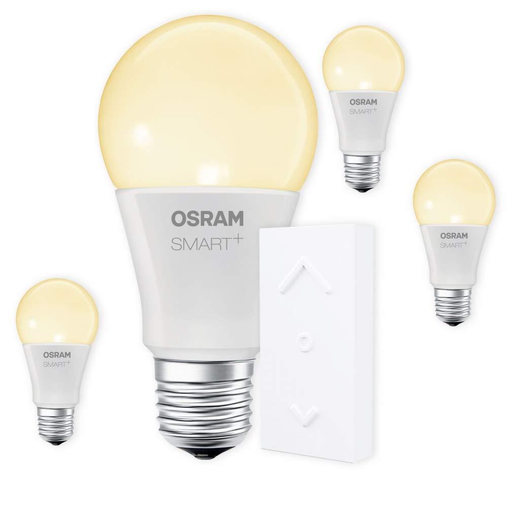 OSRAM SMART+ SWITCH KIT E27 2700K warmweiß dimmbar LED + Fernbedienung weiß Auswahl 4er Set