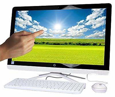 """2017 Newest HP Pavilion 23.8"""" All-in-One Full HD 1920 x1080 Touchscreen Desktop, Intel Core i3-6100U 2.3GHz 8GB DDR4 RAM 1TB HDD 7200RPM DVD+/-RW WIFI HDMI Bluetooth Webcam Windows 10"""