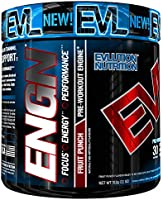 Evlution Nutrition ENGN Pre-Workout, Pikatropin-Free, Intense Pre-Workout Powder for Increased Energy, Power, and Focus...