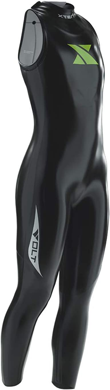 Xterra Wetsuits - Men's Volt Triathlon Wetsuit - Sleeveless Neoprene Wet Suit (3mm Thickness) | Designed for Open Water Swimming - Ironman & USAT Approved
