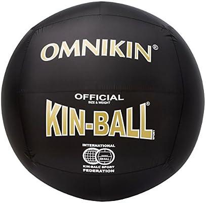 Omnikin balón de Kin-Ball Negro Negro: Amazon.es: Deportes y aire ...