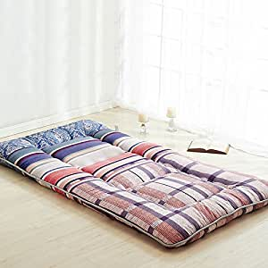 Amazon Amorous Tartan Red Futon Tatami Mat Japanese