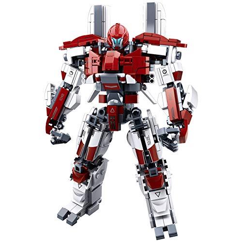 Pacific Rim Uprising Building Blocks Toy Set (Guardian Bravo(No Original Box))