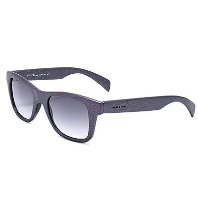 italia independent 0090BTT-017-000 Gafas de Sol, Gris, 46 Unisex: Ropa y accesorios