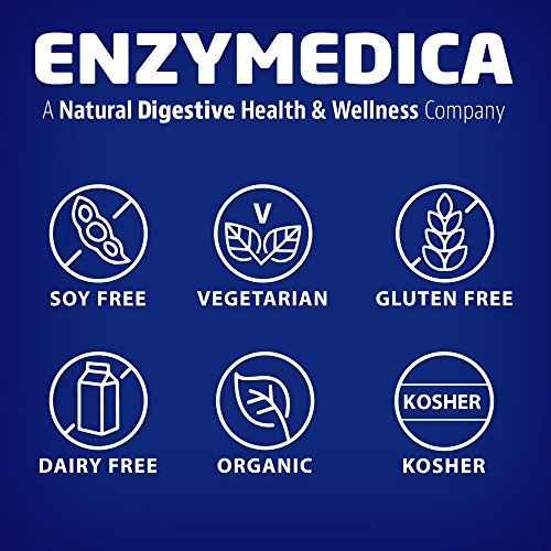 Enzymedica - GlutenEase Extra Strength, Complete Gluten & Casein Formula with Digestive Enzymes + DPP-IV, 60 Capsules (FFP) by Enzymedica (Image #8)