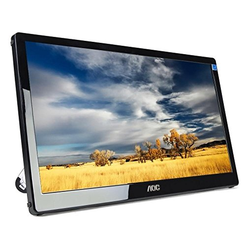 AOC E1759FWU-B Portable USB 3.0 LED Monitor, 17