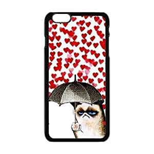 """Danny Store Hardshell Cell Phone Cover Case for New iPhone 6 Plus (5.5""""), Cute Grumpy Cat"""