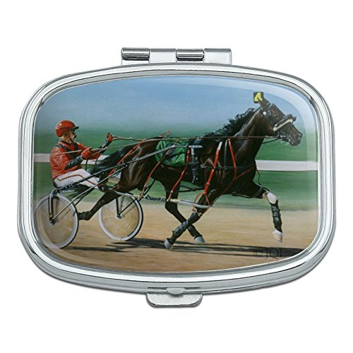 Harness Racing Horse Sulky Trotter Rectangle Pill Case Trinket Gift Box -  GRAPHICS & MORE, PB.RECT.QQJQLMG00.Z001443_8