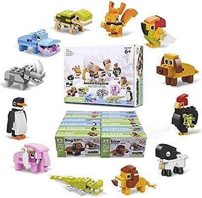 Amazon.com: iRunning 12 cajas de bloques de construcción de ...