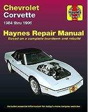 Chevrolet Corvette 1984 thru 1996 Haynes Repair Manual